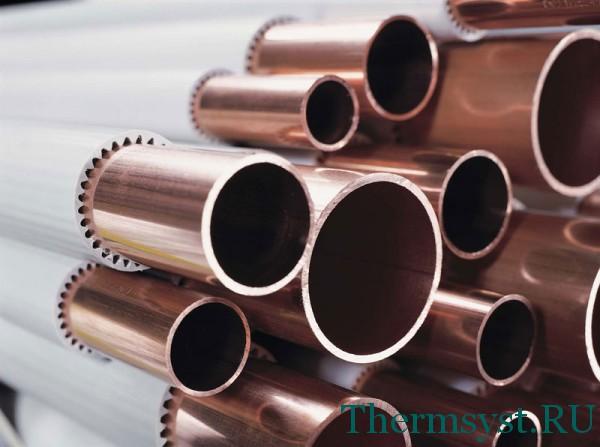 Измерение диаметра труб для отопления из различных материалов