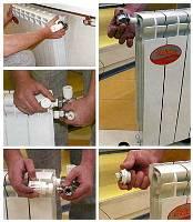 Особенности монтажа алюминиевых радиаторов