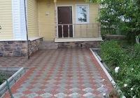 Садовые дорожки вымощенные плиткой