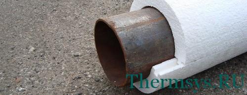 Теплоизоляция трубопроводов отопления