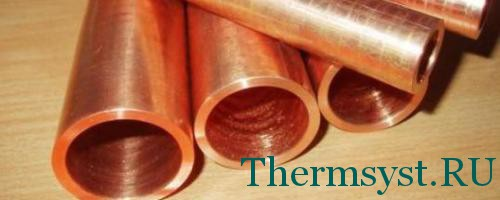 Медные трубы для отопления дома