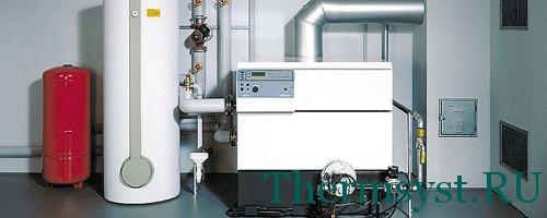 Открытая система горячего водоснабжения дома