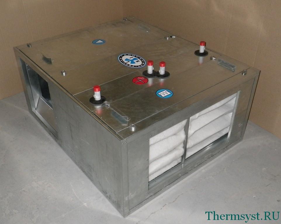 Приточно-вытяжные установки вентиляции
