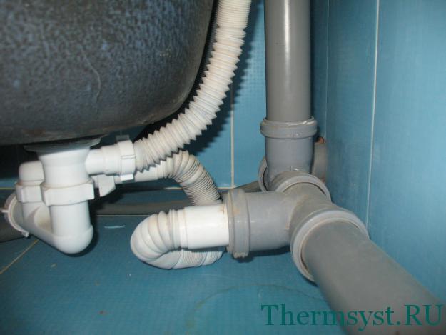 Подгонка и обрезка пластиковых труб