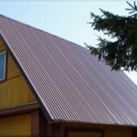Технология покрытия крыши