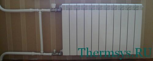 Установка радиаторов отопления в квартире своими руками