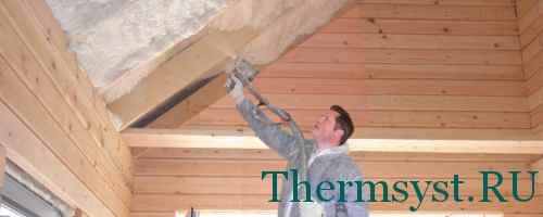 Теплоизоляция кровли (крыши)